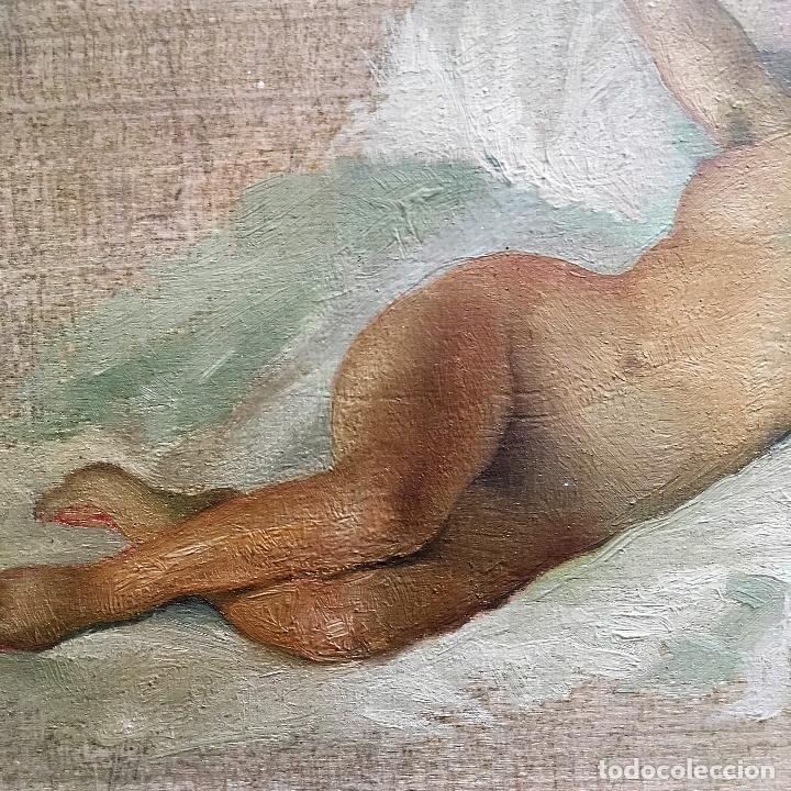 Arte: Desnudo femenino por Guillermo Vargas Ruíz (Bolullos de la Mitación, Sevilla 1910- Madrid 1990) - Foto 10 - 112884815