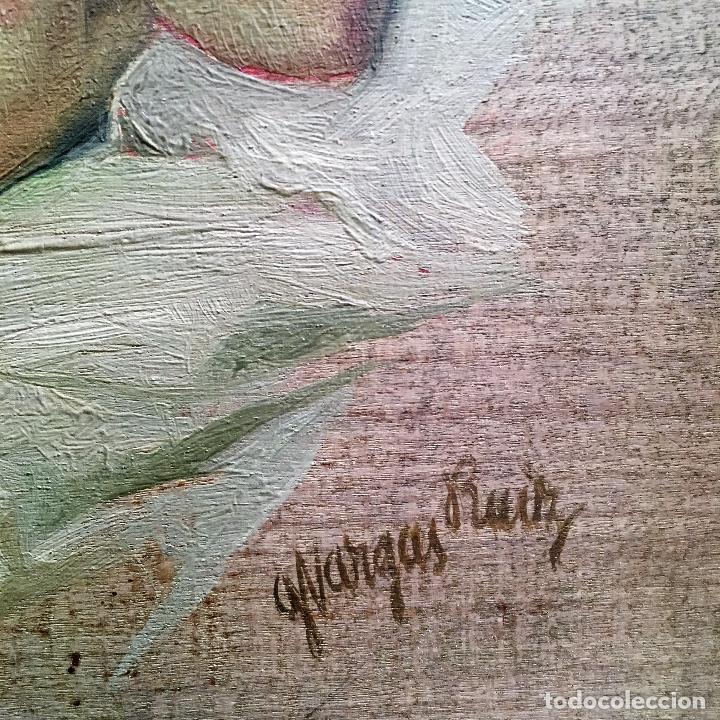 Arte: Desnudo femenino por Guillermo Vargas Ruíz (Bolullos de la Mitación, Sevilla 1910- Madrid 1990) - Foto 11 - 112884815