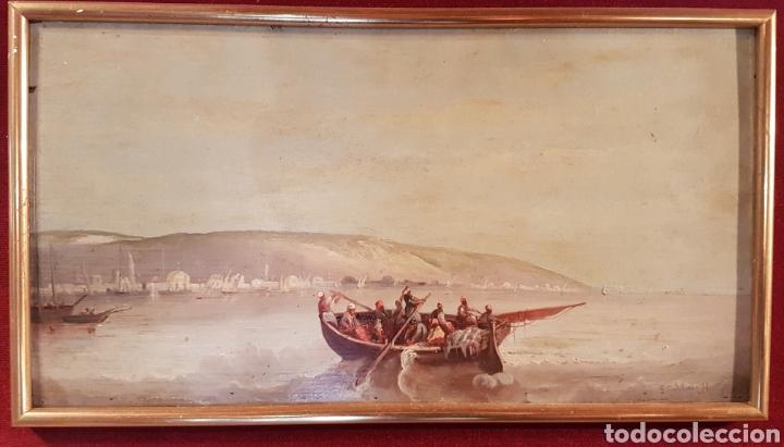 ESCUELA INGLESA ORIENTALISTA (Arte - Pintura - Pintura al Óleo Moderna siglo XIX)