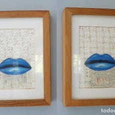 Arte: 2 COLLAGE PAPEL. Lote 113000695