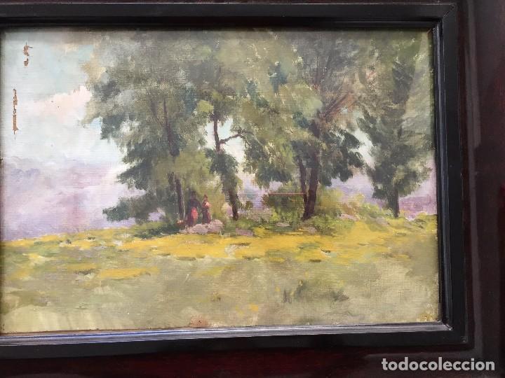 ESCUELA DE OLOT. JOSEP BERGA I BOIX (Arte - Pintura - Pintura al Óleo Moderna sin fecha definida)