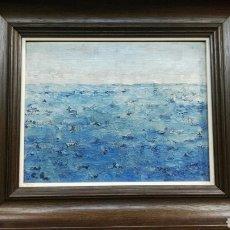 Arte - Cuadro al óleo marina - 113281990