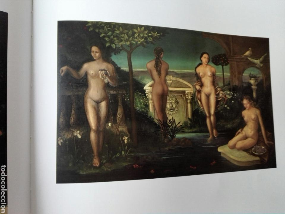 EL JARDIN DE LAS NINFAS (Arte - Pintura - Pintura al Óleo Moderna siglo XIX)