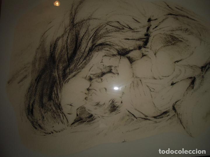 Arte: Extraordinario cuadro vintage: Maternidad - Foto 2 - 113361151