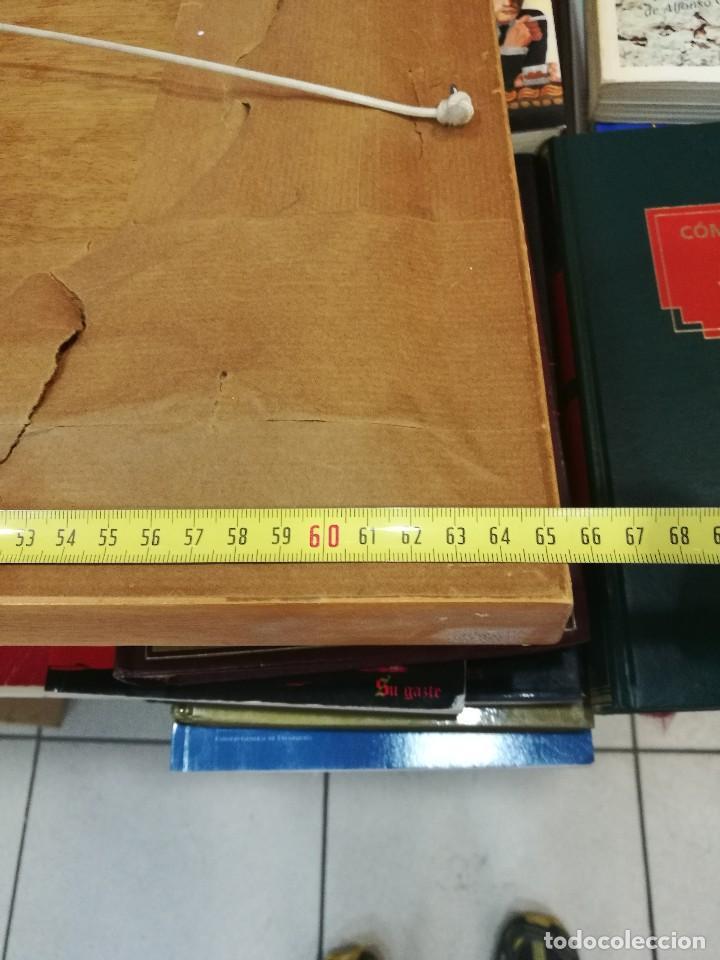 Arte: Oleo sobre tabla autor carmelo basterra ortiz de montoya -el zadorra a su paso po villodas(alava) - Foto 11 - 113402871