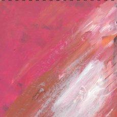 Arte: DELIRIO - ACRYLIC ON CARDBOARD - EXPRESIONISMO ABSTRACTO - ABSTRACT EXPRESIONISM. Lote 113503023