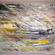 Arte: CUADRO ABSTRACTO TONOS PASTEL. Lote 96801523