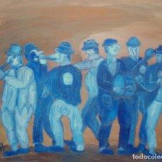 Arte: BANDA MUSICOS FIESTA SARDINA. Lote 113577251
