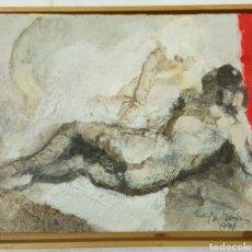 Kunst - Menéndez rojas 1994 óleo sobre tabla.Mallorca Baleares - 113706018