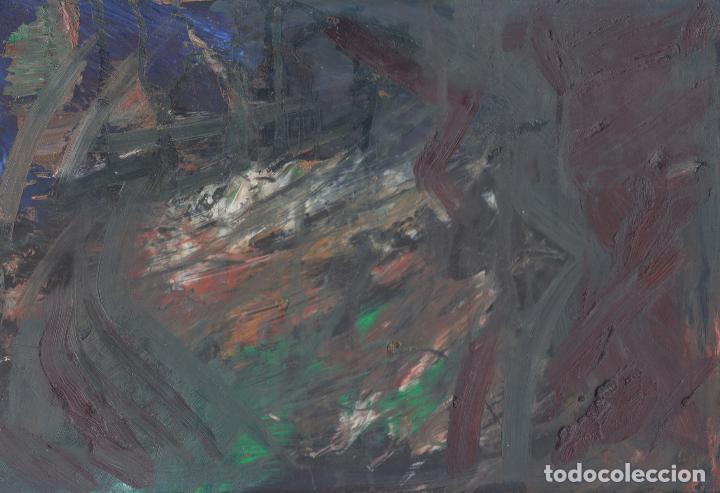 DELIRIO - OLEO EN MDF - EXPRESIONISMO ABSTRACTO - ABSTRACT EXPRESIONISM (Arte - Pintura Directa del Autor)