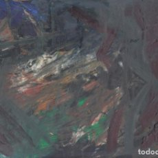 Arte: DELIRIO - OLEO EN MDF - EXPRESIONISMO ABSTRACTO - ABSTRACT EXPRESIONISM. Lote 113718731