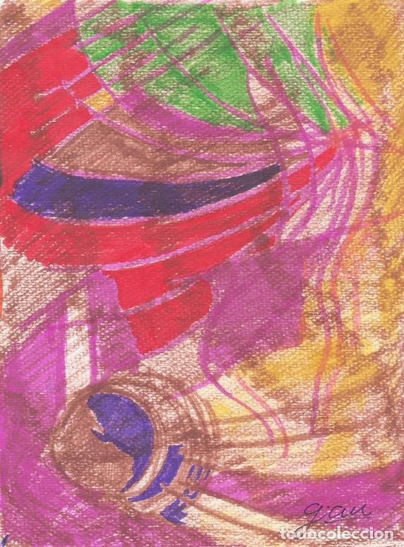 DELIRIO - ART ALCOHOL MARKERS ON PAPER - EXPRESIONISMO ABSTRACTO - ABSTRACT EXPRESIONISM (Arte - Pintura Directa del Autor)