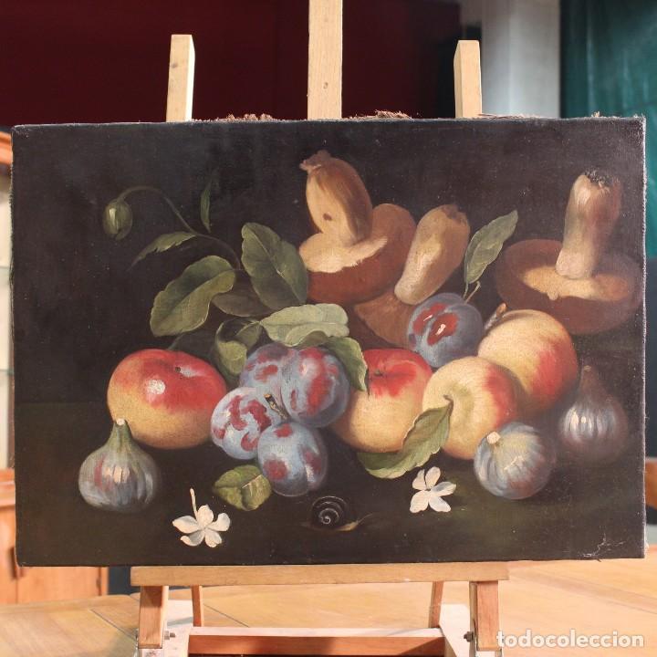 PINTURA ÓLEO SOBRE LIENZO NATURA MUERTA (Arte - Pintura - Pintura al Óleo Moderna siglo XIX)