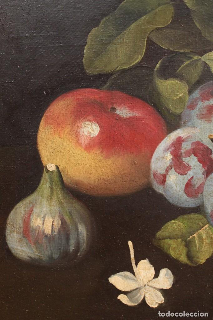 Arte: Pintura óleo sobre lienzo natura muerta - Foto 4 - 113726959