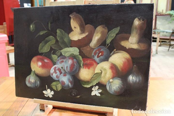 Arte: Pintura óleo sobre lienzo natura muerta - Foto 5 - 113726959