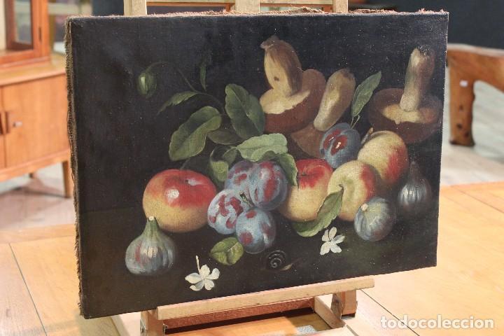 Arte: Pintura óleo sobre lienzo natura muerta - Foto 11 - 113726959