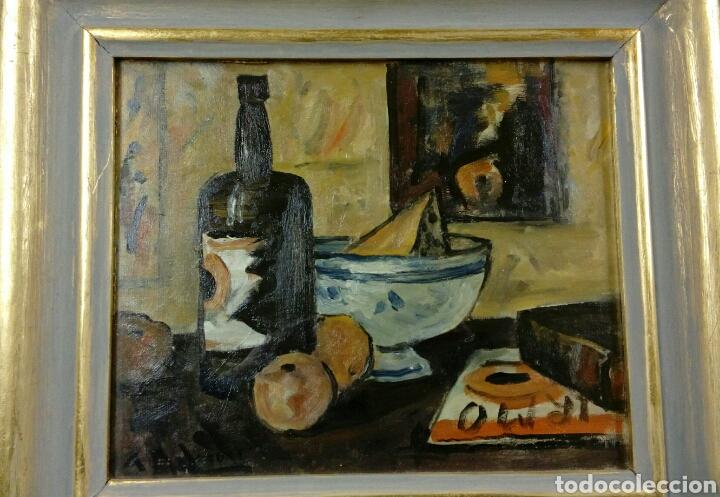 ALCEU RIBEIRO ÓLEO BODEGÓN BALEARES MALLORCA (Arte - Pintura - Pintura al Óleo Contemporánea )