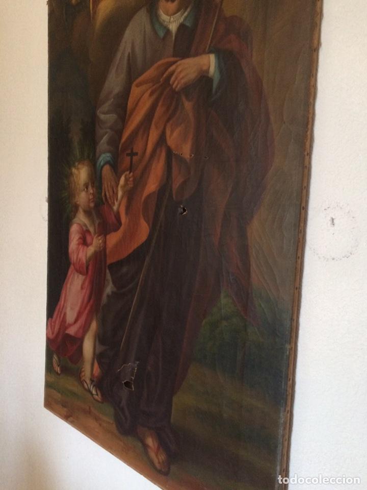 Arte: Oleo san jose (para restaurar) - Foto 11 - 113833264