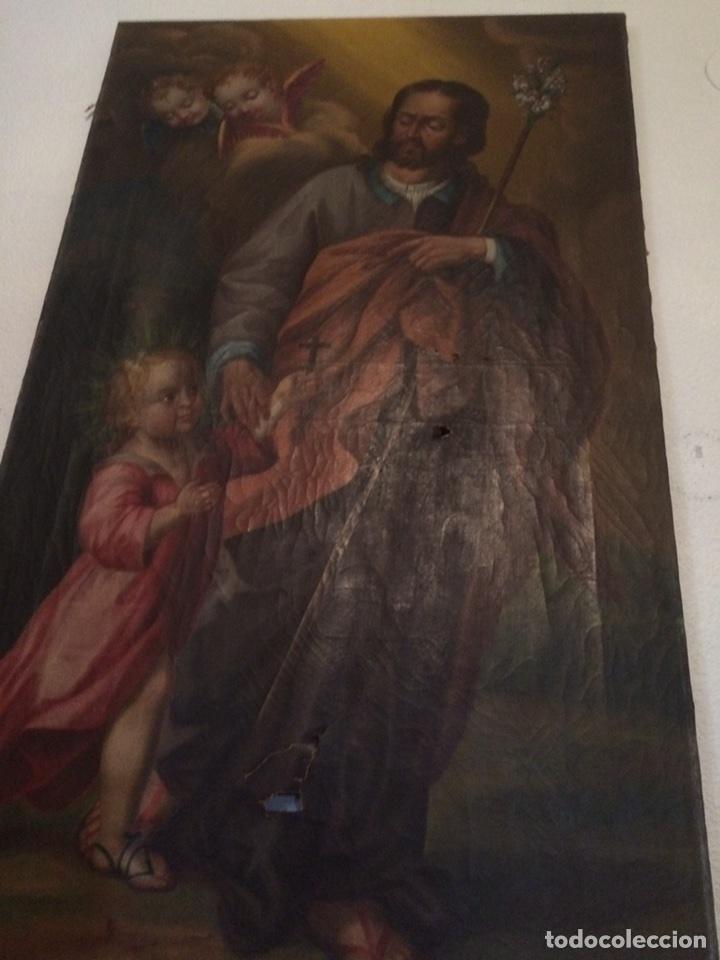 Arte: Oleo san jose (para restaurar) - Foto 13 - 113833264