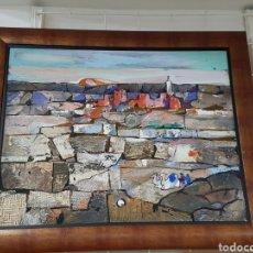 Arte: CUADRO TIERRAS DE TORNE SAMIR. Lote 113834448