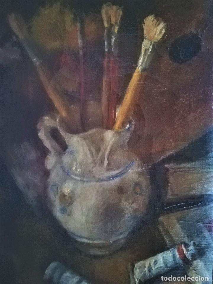 PINTURA FRANCESA,OLEO SOBRE TELA, PINCELES Y PINTURA, FINALES DEL XIX,IMPRESIONISTA-IMPRESIONISMO (Arte - Pintura - Pintura al Óleo Moderna siglo XIX)