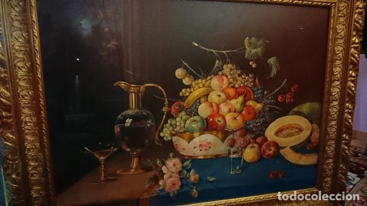 BODEGÓN ÓLEO SOBRE LIENZO JUAN PADILLA LARA (Arte - Pintura - Pintura al Óleo Moderna sin fecha definida)