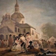 Arte - VISTA DE S ANTONIO DE LA FLORIDA AL ESTILO GOYESCO, MADRID - 114116783