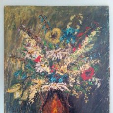Arte: OLEO SOBRE TABLA DE ESTILO IMPRESIONISTA. Lote 178225460