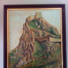 Arte: CASTILLO DE LUQUE, OBRA SOBRE TABLA CON MUCHO RELIEVE. AUTOR: ANTONIO HIDALGO.. Lote 114278063