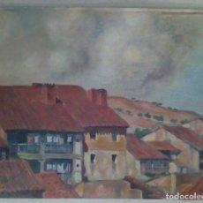 Arte: OLEO ANONIMO SOBRE CANVAS. Lote 114283327