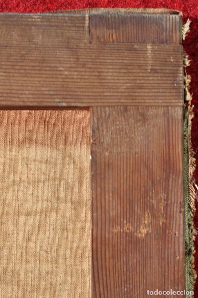 Arte: Antigua pintura al óleo sobre lienzo con retrato de gentilhombre - Foto 3 - 114361203