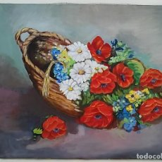 Arte: OLEO SOBRE TELA CON BASTIDOR.. Lote 114542963