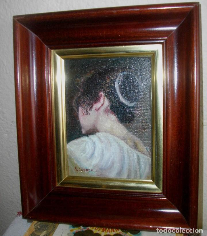 oleo sobre tablilla con marco 27 x 22--firmado - Comprar Pintura al ...