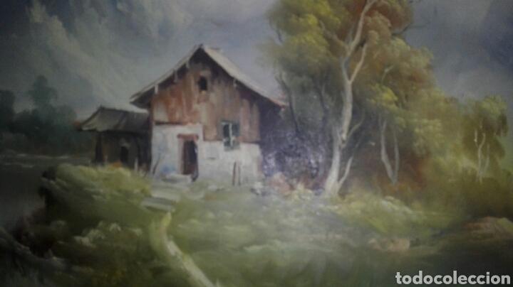 Arte: Paisaje oleo lienzo firmado - Foto 2 - 114819135