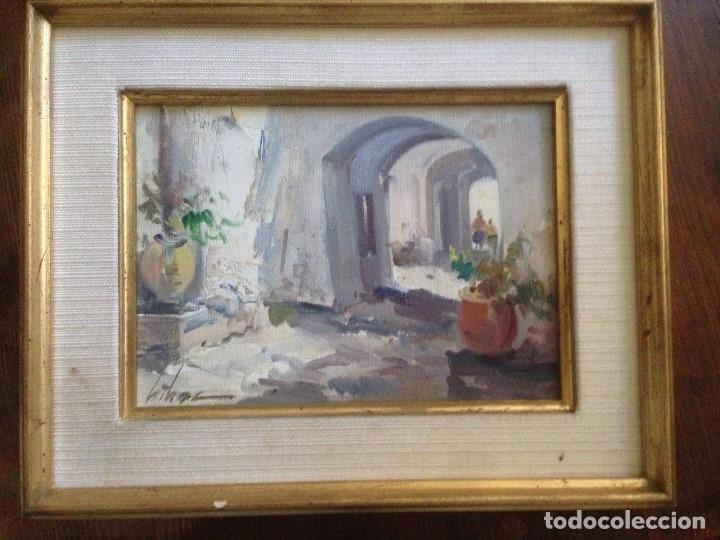 DIDAC GARCIA RIDAO (1944), CADAQUÉS, ÓLEO SOBRE TÁBLEX, FIRMADO (Arte - Pintura - Pintura al Óleo Contemporánea )