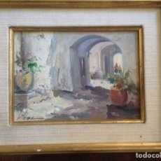 Arte: DIDAC GARCIA RIDAO (1944), CADAQUÉS, ÓLEO SOBRE TÁBLEX, FIRMADO. Lote 97803851