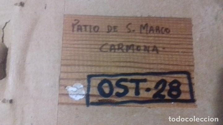Arte: MANUEL FERNANDEZ. PAREJA DE ÓLEOS SOBRE TABLA. BIEN ENMARCADOS. - Foto 4 - 114849119
