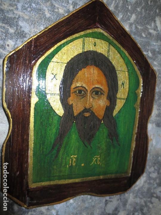 PINTURA SANTA FAZ OLEO SOBRE TABLA (Arte - Pintura - Pintura al Óleo Antigua sin fecha definida)