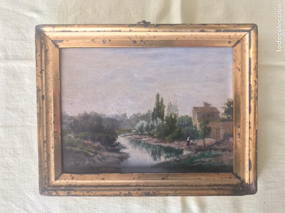 ÓLEO SOBRE TABLA (POSIBLEMENTE ATRIBUIDO A CARLOS DE HAES) (Arte - Pintura - Pintura al Óleo Antigua sin fecha definida)