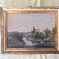 Arte - Óleo sobre tabla (Posiblemente atribuido a Carlos de Haes) - 115191876