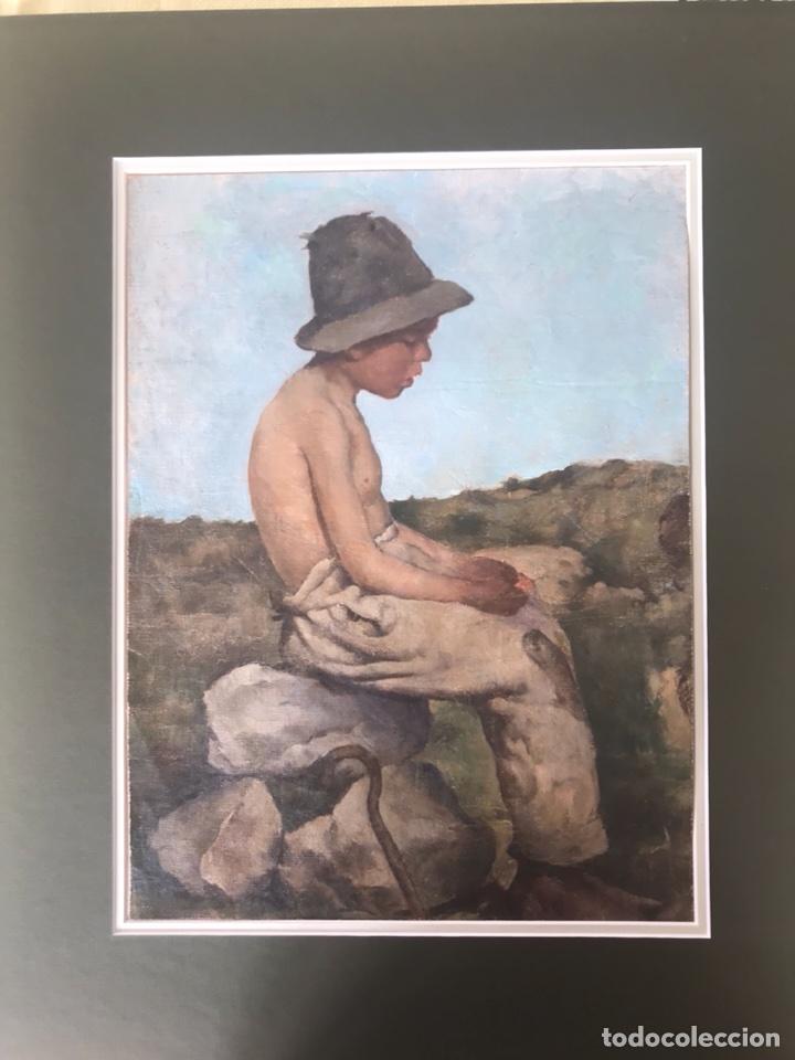 Arte: Óleo sobre lienzo. Retrato de pastor - Foto 2 - 115192711
