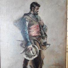 Arte: OLEO SOBRE LIENZO COSTUMBRISTA. Lote 115286607