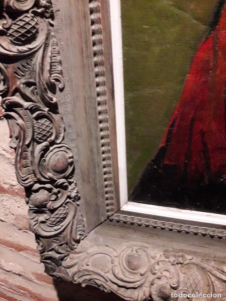 Arte: Oleo sobre lienzo escuela vasca - Foto 4 - 115287111