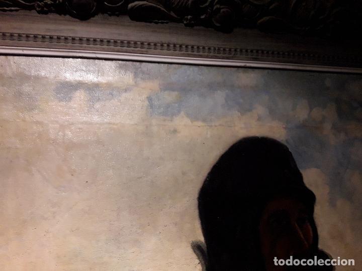 Arte: Oleo sobre lienzo escuela vasca - Foto 5 - 115287111