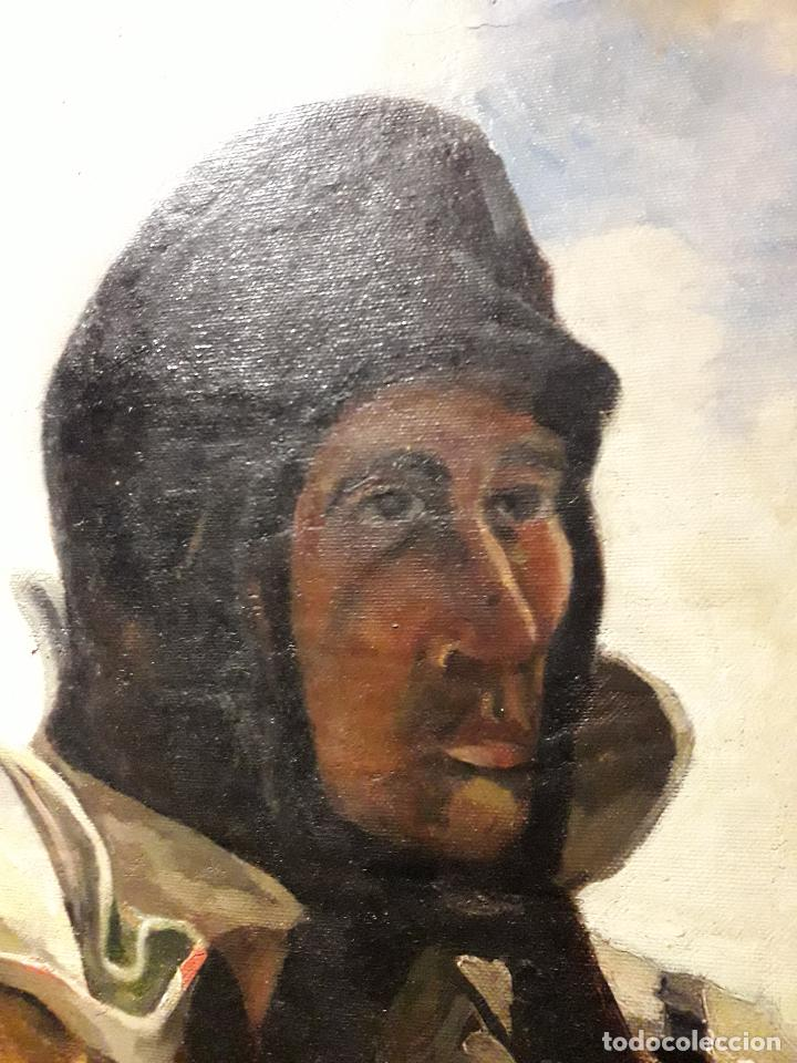 Arte: Oleo sobre lienzo escuela vasca - Foto 8 - 115287111