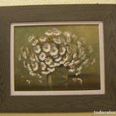 Arte: PINTURA AL OLEO CON MARCO FIRMADO E.R. EVANS. Lote 115311535