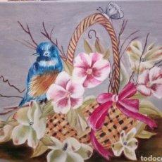 Arte: OLEO SOBRE LIENZO, FIRMADO. Lote 115334952