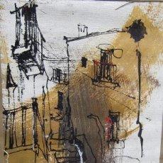 Arte: CUADRO DE BERNARD DUFOUR.OLÉO SOBRE TELA. Lote 115438199