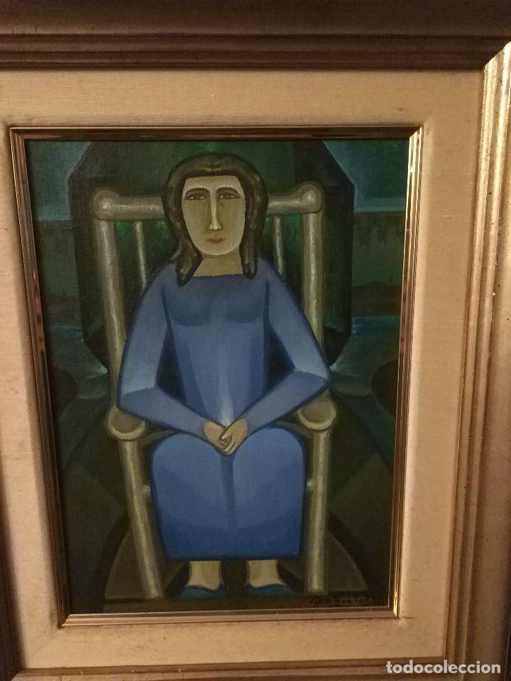 ÓLEO DE JOAN BROTAT (Arte - Pintura - Pintura al Óleo Contemporánea )