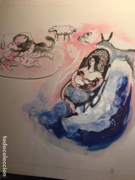 ROSER MUNTANYOLA (BARCELONA 1928), ORIGINAL Y REPRODUCIDO (Arte - Pintura - Pintura al Óleo Contemporánea )